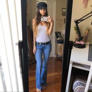Light Blue Flare Jeans    1